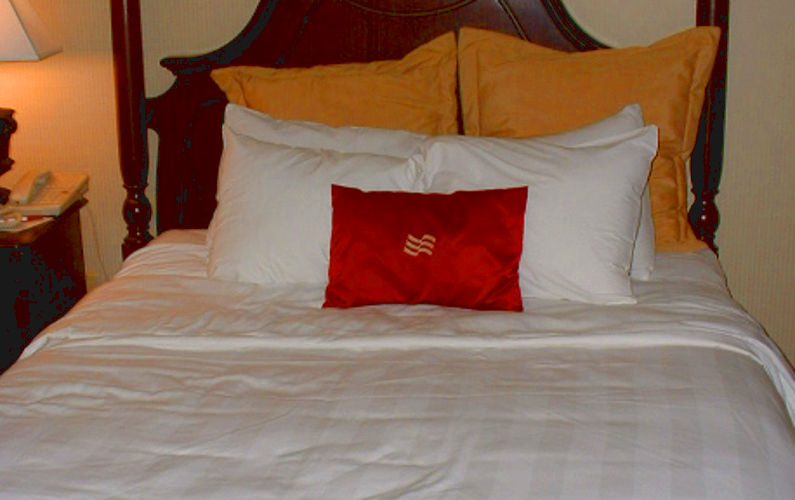 Hotel Bed in New Orleans