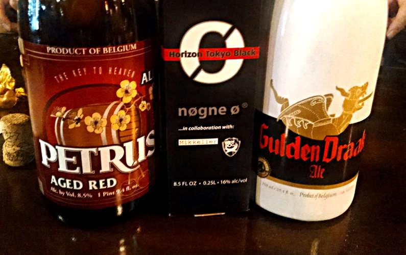 Three Bottles of Beer at ISO Beer