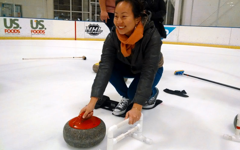 Honest to God Olympic Curling