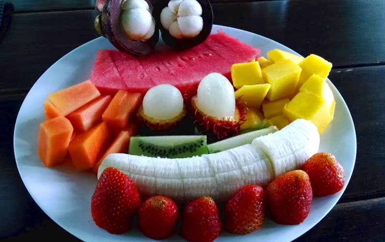 Villa Blubambu Fruit Plate