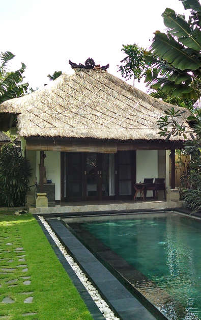 Our Suite and Pool at Villa Blubambu