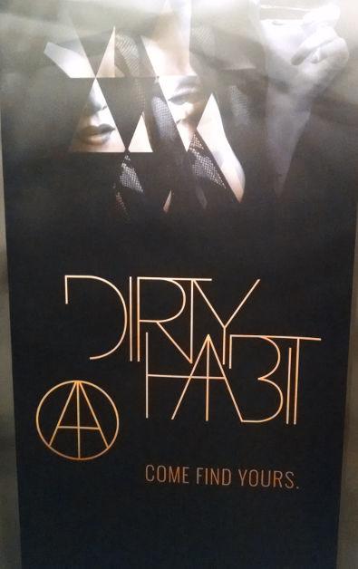 SF Dirty Habit Signage