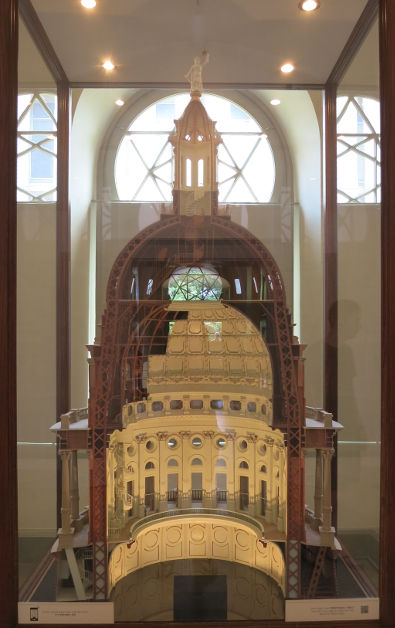 A Scaled Cross Section Reproduction of the Texas Capitol Dome