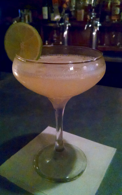 Pink Firehouse Cocktail From Their Happy Hour Challenge List