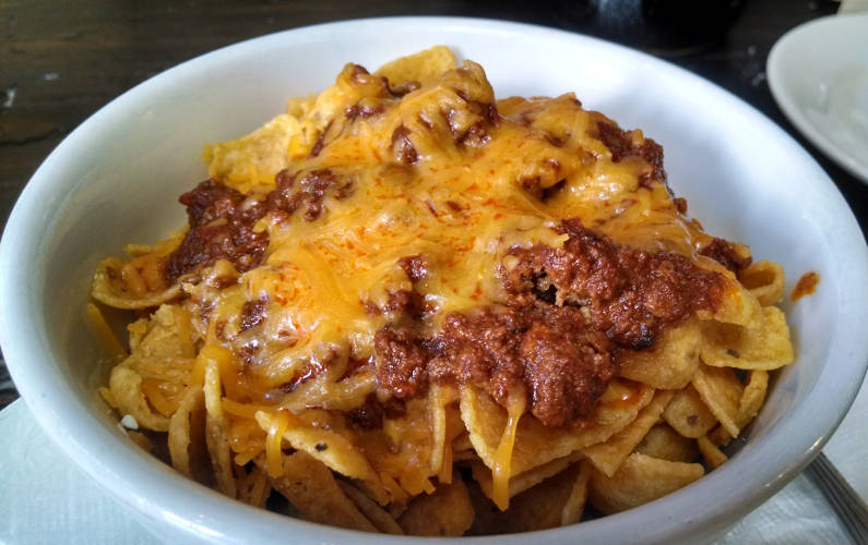 Close Up of Frank's Frito Pie