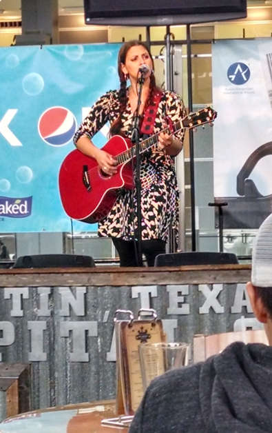 Austin Airport Art Singer
