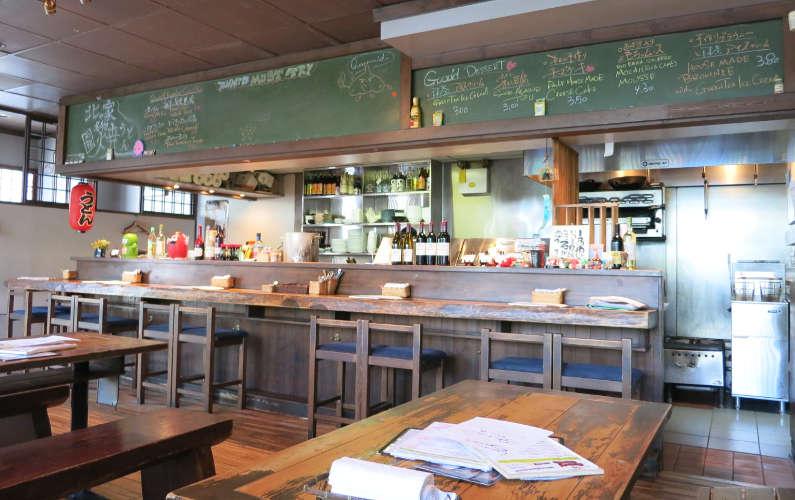 Guu with Garlic Dining Room Interior