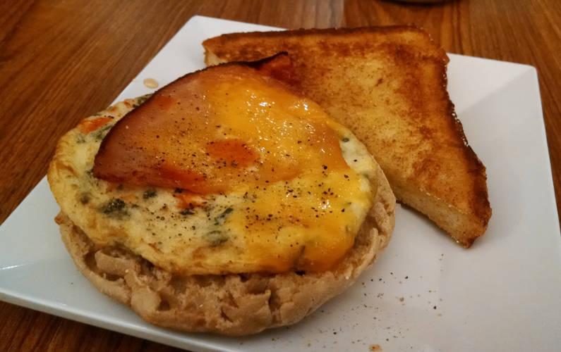 Breakfast Sandwich at Austin Hyatt