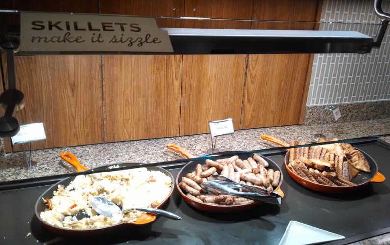 Breakfast Options at Austin Hyatt