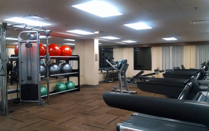 Gym Room at Austin Hyatt
