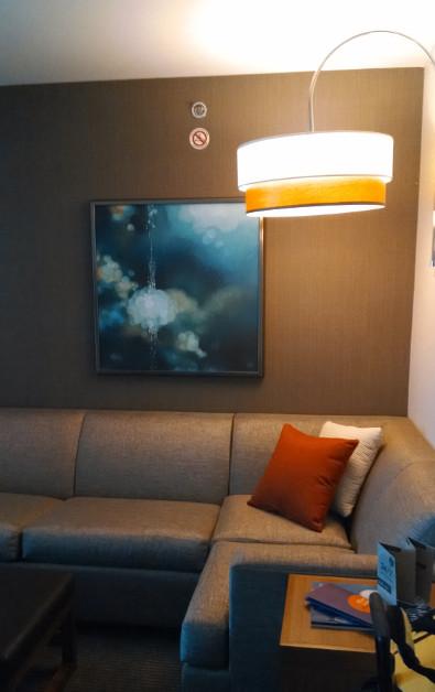 Living Room at Austin Hyatt