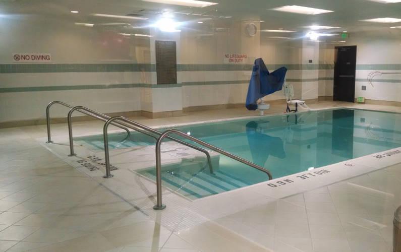 Pool at Austin Hyatt