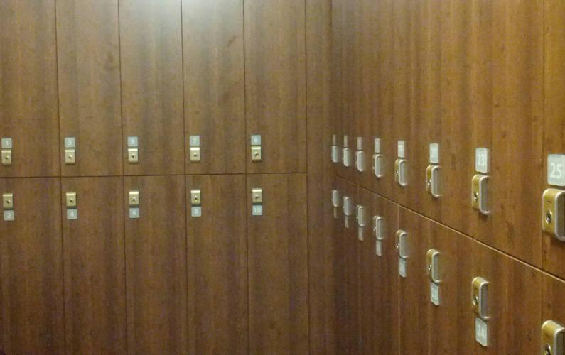 Locker Room at Palo Alto Immersion Spa
