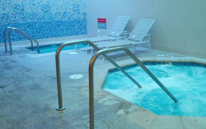 Interior View of the Hot Spa and Cold Dip at Palo Alto Immersion Spa
