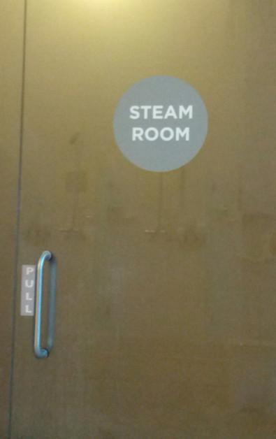 Steam Room Entrance at Palo Alto Immersion Spa