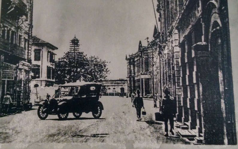 Old Photos of the Area at Penang's Armenian Street Heritage Hotel