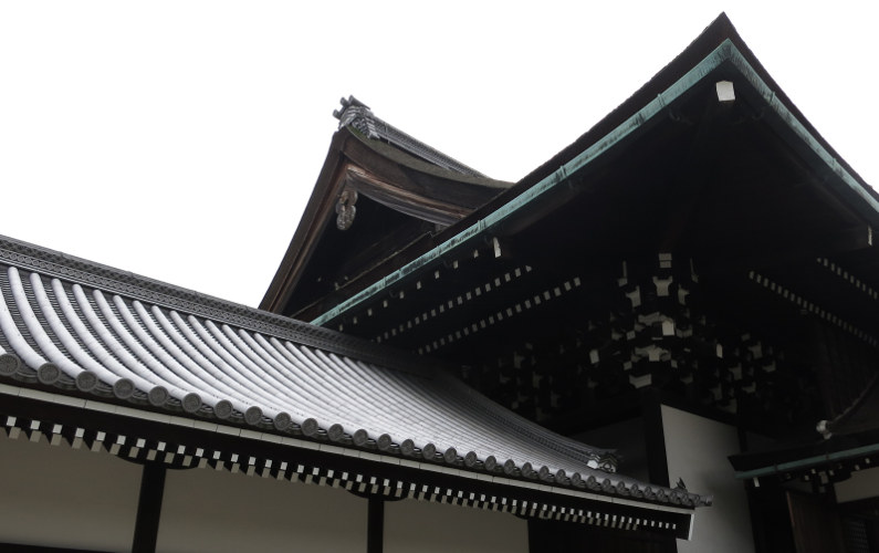 Gabled Roof at the Kyoto Imperial Palace
