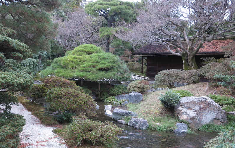 More of the Garden at the Kyoto Imperial Palace