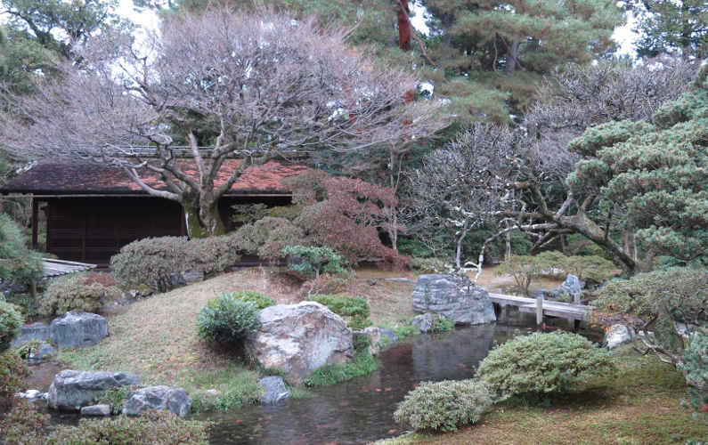 Garden at the Kyoto Imperial Palace