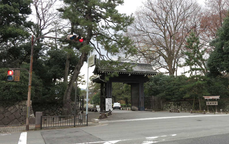 One of Many Gates Leading into the Kyoto Imperial Palace