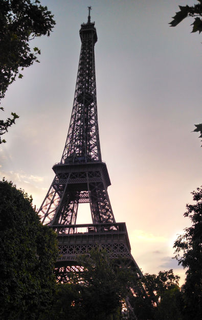Eiffel Tower During Mid Day