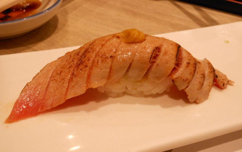 Seared Tuna at Midori Ginza