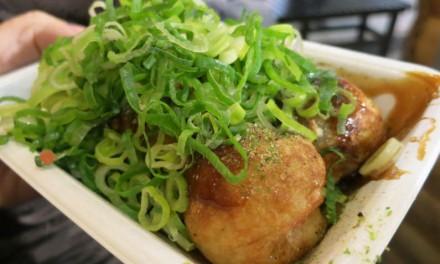 Nishiki Market's Karikari Hakase Creamy Salty Takoyaki