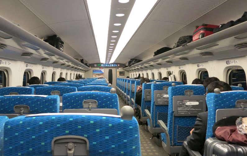 JR Train Cabin Interior