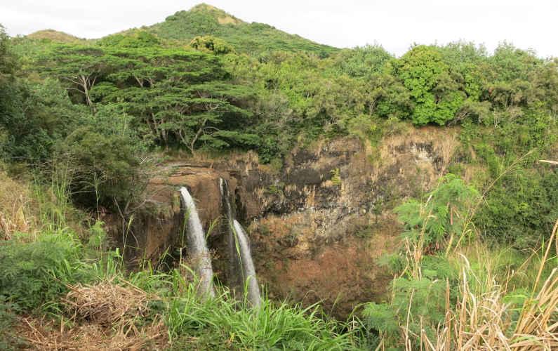 Trekking to the Base of Wailua Falls?