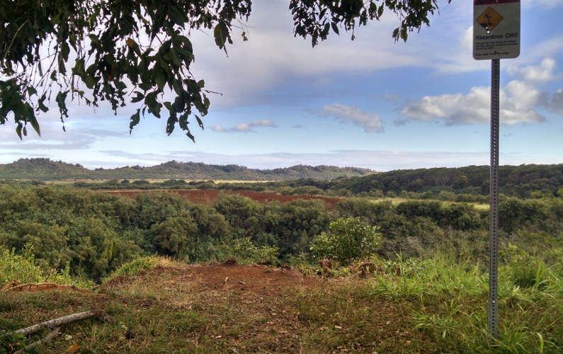 View of the Area Around Wailua Falls