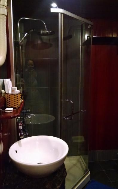 Bathroom on the Indochina Junk
