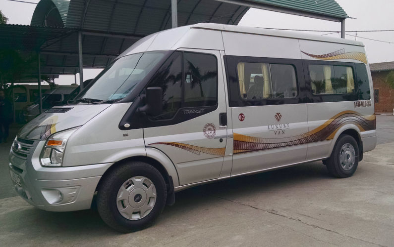 Van to Take Us to Our Inodchina Junk