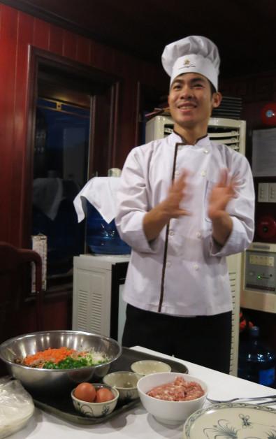 Happy Indochina Junk Chef