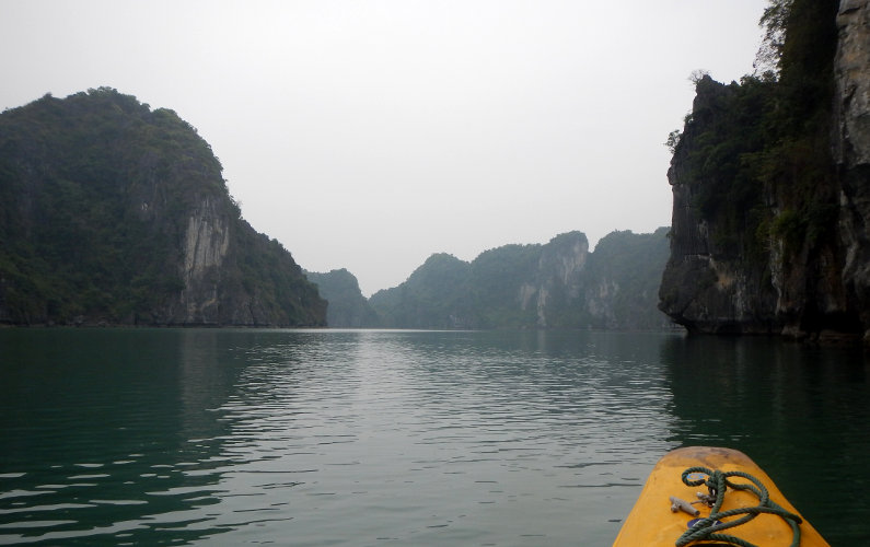 Exploring the Area by Kayak Courtesy of Indochina Junk