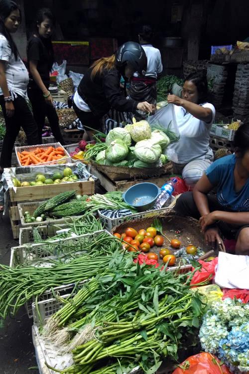 Activity Market Paon Cooking Bali