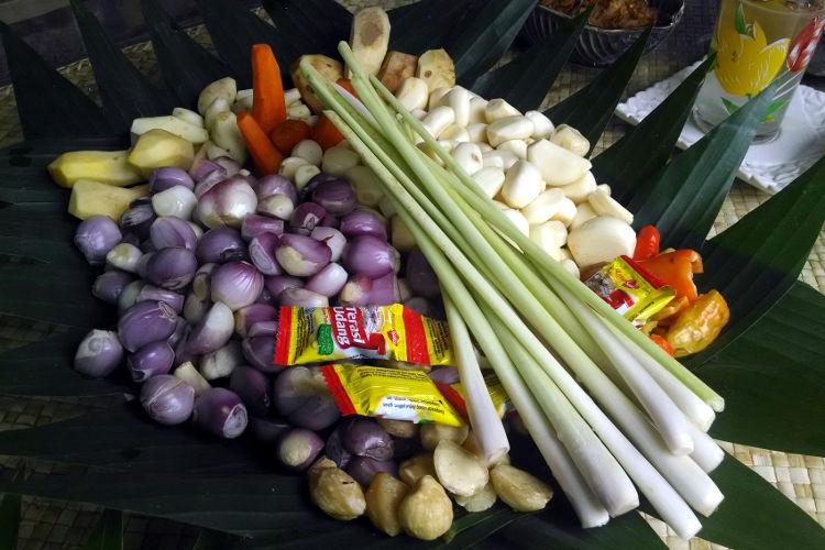 Aromatics Paon Cooking Class Bali