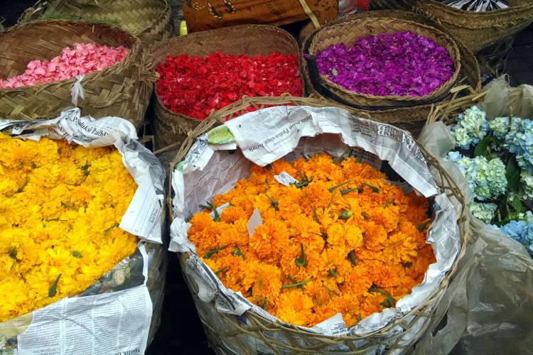 Flowers Market Paon Cooking Bali