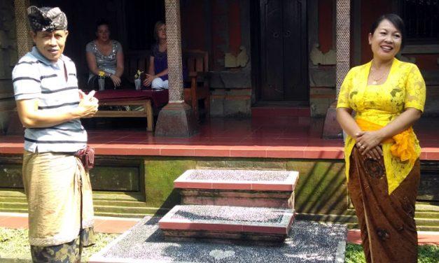 Puspa and Wayan of Paon Bali Cooking Class