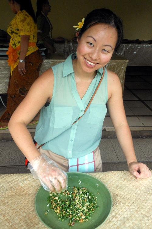 Nadia Paon Cooking Class Bali 05