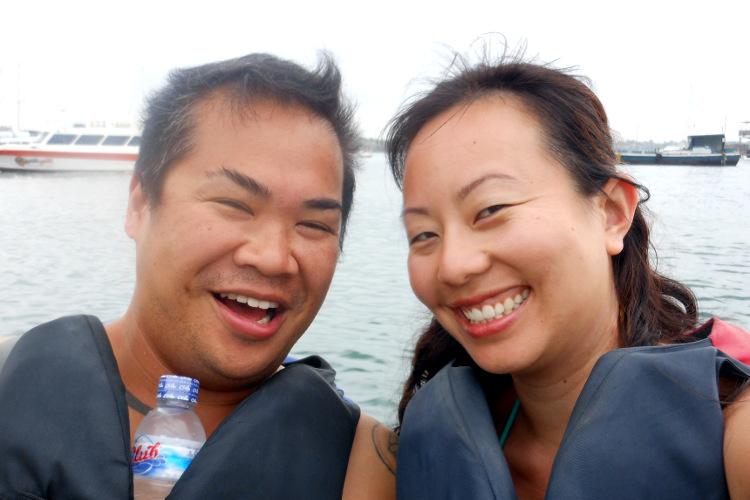 Nadia and JM Dolphin Lodge Bali
