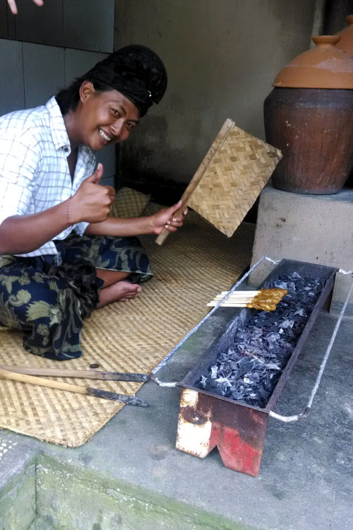 Satay Grill Paon Cooking Class Bali