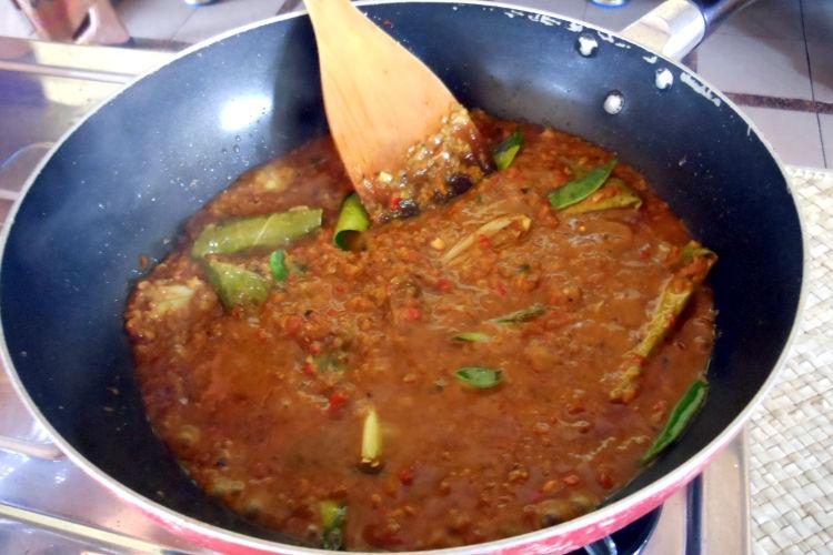 Sauce Paon Cooking Class Bali