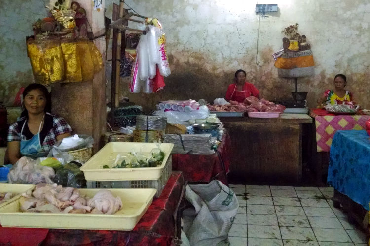 Sellers Market Paon Cooking Bali