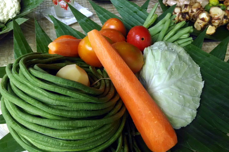 Vegetables Paon Cooking Class Bali