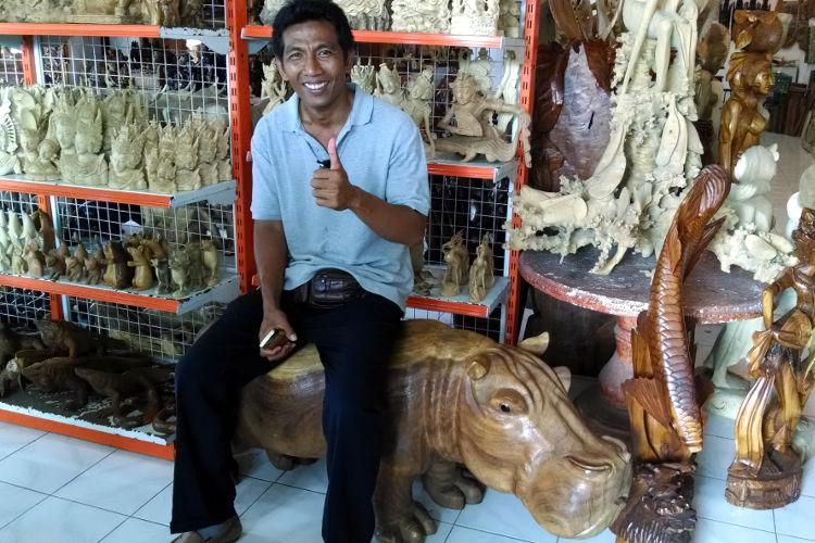 Wood Carving Bali Tour
