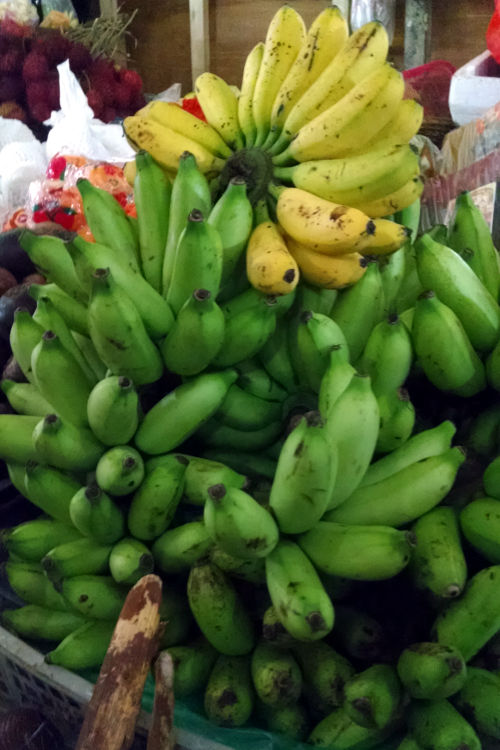 bananas Market Paon Cooking Bali