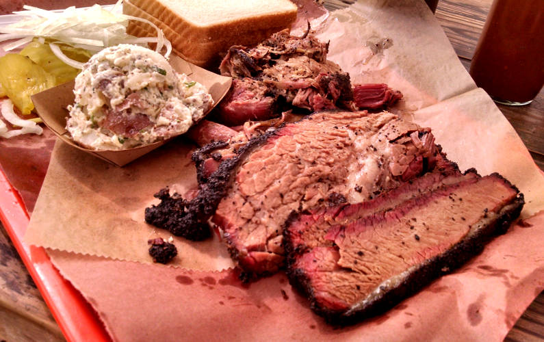 Searching for la Barbecue in Austin