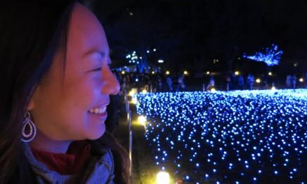 Enjoying Tokyo's Midtown Christmas Lights