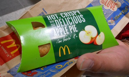 Finding the McDonalds Fried Apple Pie Again in Tokyo