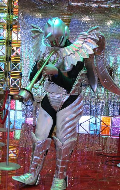 Robot Trump Player at the Robot Show